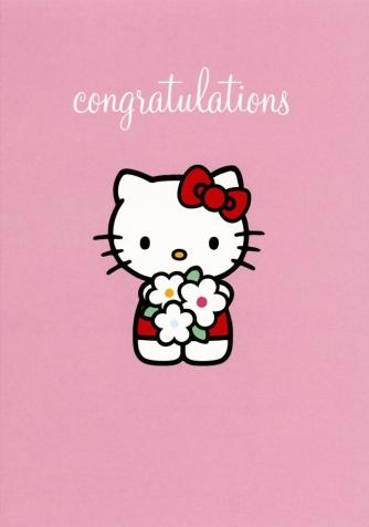 Kitty congratulations