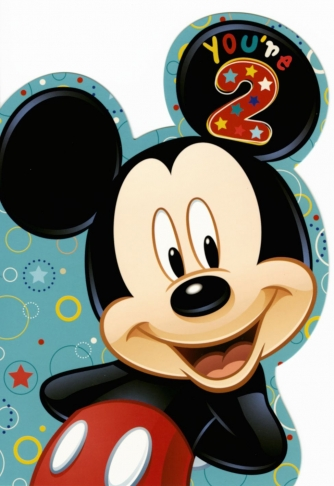 Mickey Mouse 'You're 2'