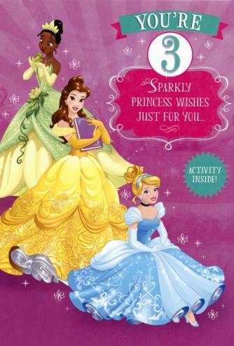 Disney Princess 'You're 3'