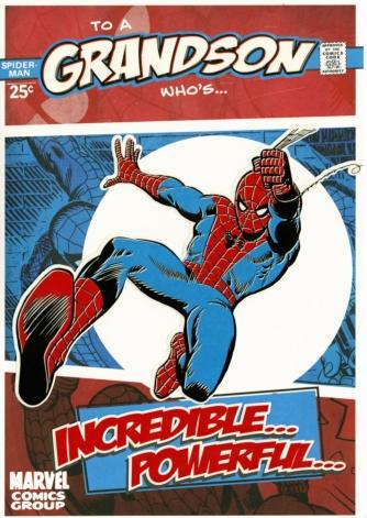 Spiderman Grandson
