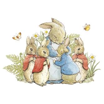 Bunnies with Mum