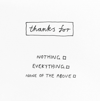 Thanks for...