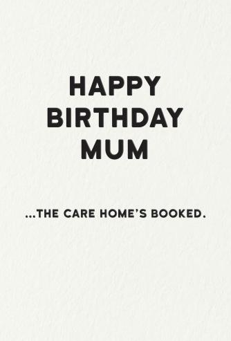 Care home Mum