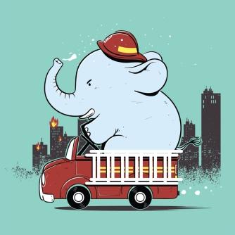 Fireman Elephant