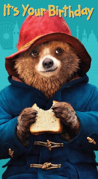 Paddington Bear birthday