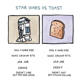 Star Wars vs Toast