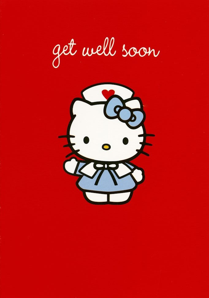 the gallery for gt get well soon hello kitty