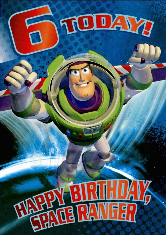 A Buzz Lightyear Birthday Card From Hallmark