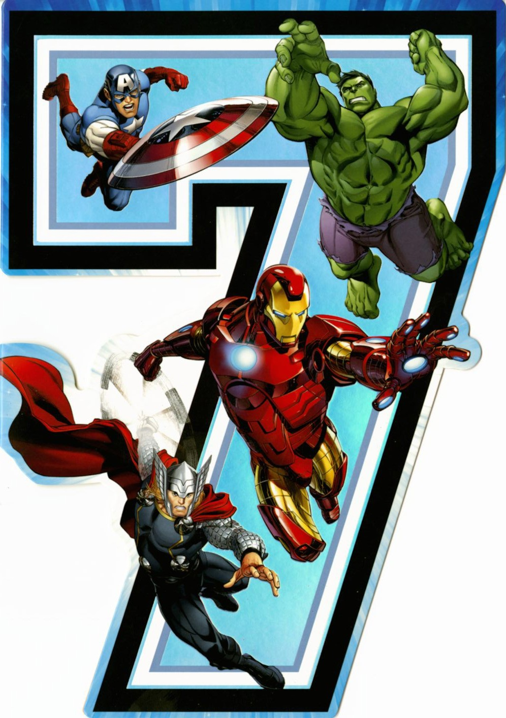 A Marvel Birthday Card From Hallmark