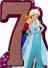 Frozen '7th birthday'