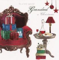 A chair-ful of gifts
