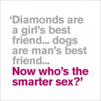 Who's the smarter?