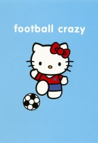 Hello Kitty football crazy