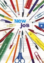 New Job Pens Rulers