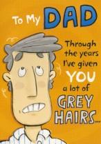 Grey hairs