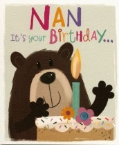 Nan, it's your birthday!