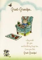 A big wish for Great-Grandpa