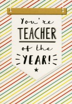 Teacher of the year!