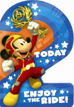 Mickey Mouse '2 today'