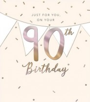 On your 90th