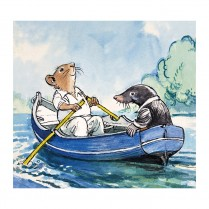 Ratty and Mole on the water