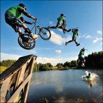The jump!