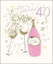 Celebrate with bubbly