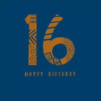 Sixteen today