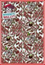Where's Wally? Santa land