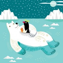 The polar bear and the penguin