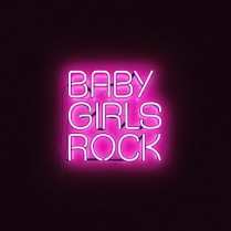 Baby girls rock