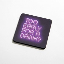 Too early for a drink?