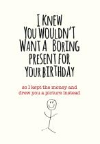 Boring present