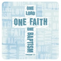 One Lord, one faith