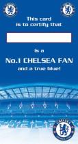 Chelsea's number one fan