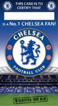 Chelsea fan certificate