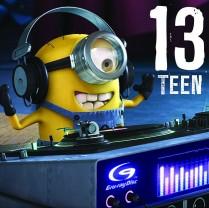 Despicable Me Minion 13th birthday
