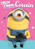 Despicable Me Minion cousin birthday
