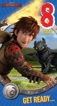 How to train your dragon 8 today