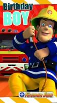 Fireman Sam birthday boy