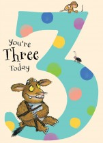 Gruffalo 'You're Three Today!'