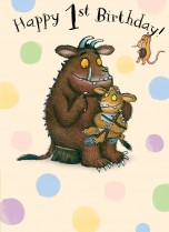 Gruffalo 'Happy 1st Birthday!'