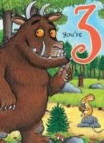 Gruffalo 'You're 3!'
