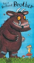 Gruffalo 'To a brilliant Brother!'