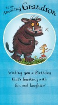 Gruffalo 'To an amazing Grandson!'