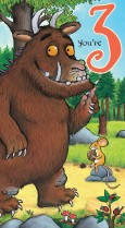 Gruffalo 'You're 3'