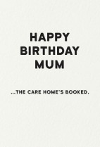 Care home Mum
