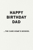 Care home Dad