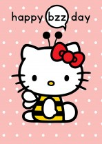 Hello Kitty Happy Bzzday