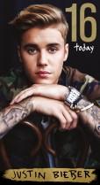 Justin Bieber 16th birthday